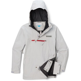 Columbia Park Run Anorak Men, nimbus grey
